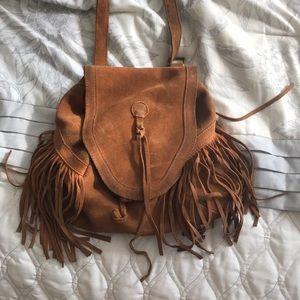 Convertible crossbody backpack purse!